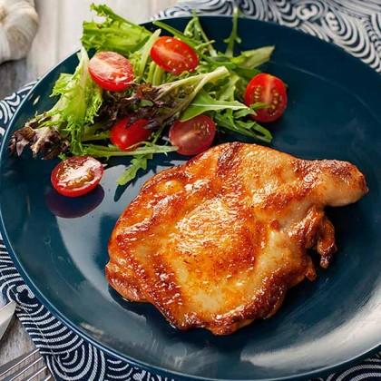 Chicken Chop Honey Tomato 蜜汁番茄鸡扒 (Marinated - 1pc)
