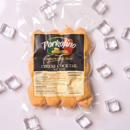 Mini Cheese Cocktail Sausage 芝士鸡尾酒香肠 250gm±